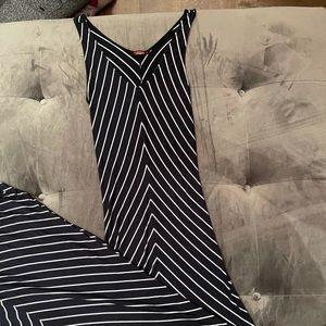 Womans long summer dress